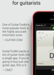 Celecciona tu instrumento y empieza GuitarToolKit iphone