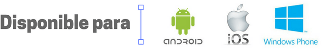 Afinador disponible para Android, iOS y Windows Phone o Mobile