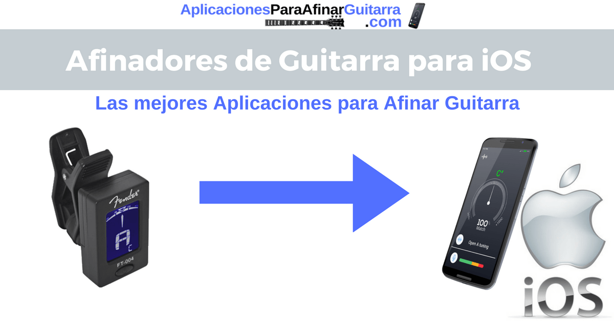 aplicaciones para afinar guitarra iphone ipad ipod